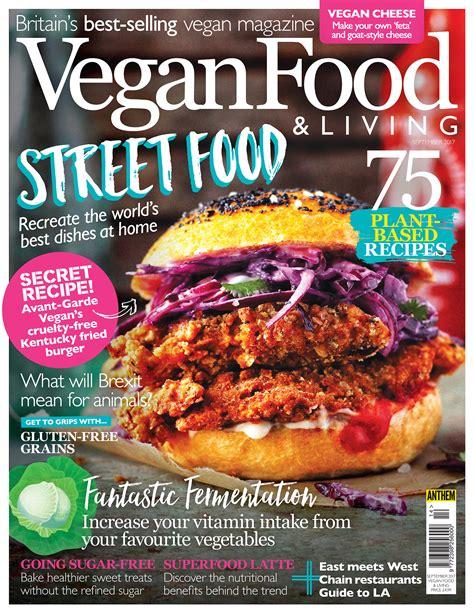 cuisine living issue vegan food living