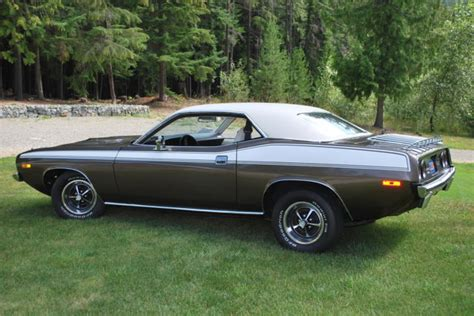 "1974 Barracuda ""Cuda"" for sale   Plymouth Barracuda 1974"
