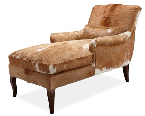 Cowhide Chaise by Cowhide Chaise From Furniture I M Guessing It Would