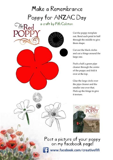 remembrance poppy template remembrance poppy poppy