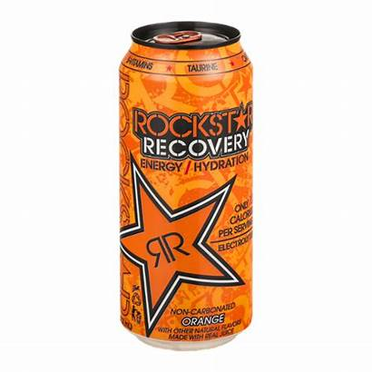 Rockstar Orange Recovery Energy Drink