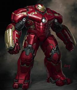 Alternate Vision and Hulkbuster concept art - UTB Geek