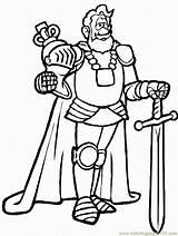 Ritter Coloring Medieval Ausmalbilder Kostenlos Colouring Colorat Caballero Chevalier Regina Lego Colorear Regi Principesse Knight Barbu Dibujos Sheet Seite Disegno sketch template