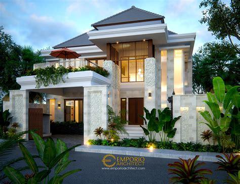 desain rumah villa bali 2 lantai bapak rivan di nusa dua bali