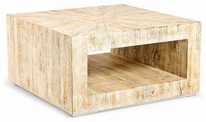 kismet coastal beach square chunky mango driftwood coffee With chunky square coffee table