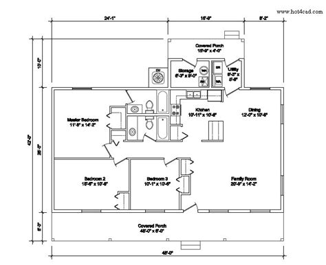Auto Cad Floor Plans Find House-architecture Plans