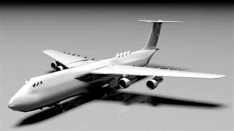 technology Airplane 3D | CGTrader