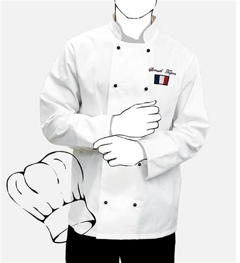 veste de cuisine personnalisé veste de cuisine personnalisée mestenuesperso