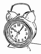 Alarm Printable Coloring Clocks Cartoonized Olphreunion Printables sketch template