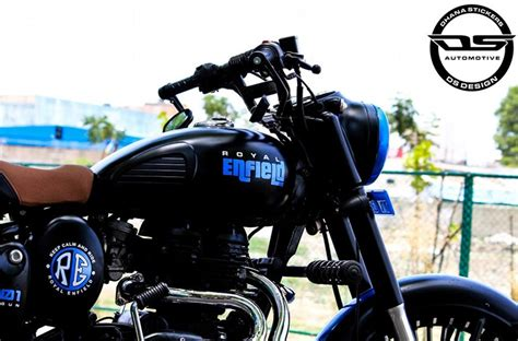 This Modified Royal Enfield Classic 350 Is Sinfully Elegant!