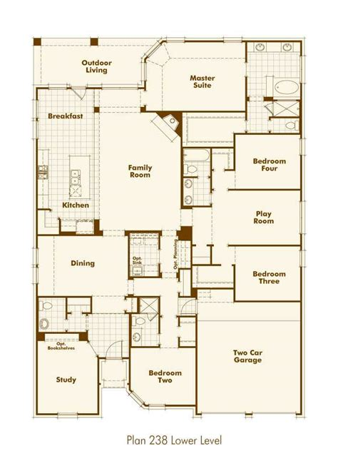 Highland Homes Floor Plans 921 by Highland Home Plan 238 In Santa Ranch 297k For