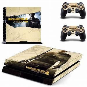 Uncharted 4 Drake SeriesSic Parvis Magna PS4 Skin