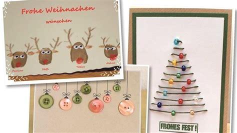 weihnachtskarten zum selber machen zwanzig einfache weihnachtskarten zum basteln