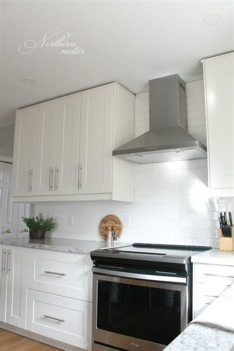 ikea kitchen backsplash ikea kitchen reno grimslov cabinets backsplash to