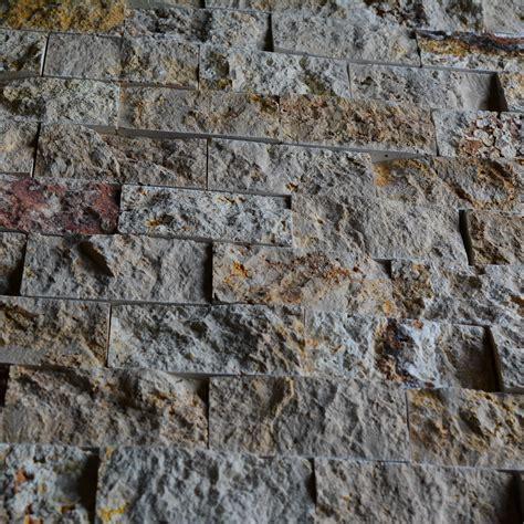 natural stone scabos travertine 2x4 brick pattern split