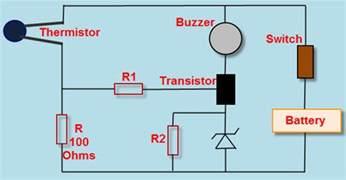 Heat Detector Circuit Working Electronic Circuits