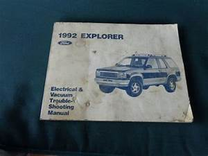 Purchase 1992 Ford Explorer Electrical  U0026 Vacuum Trouble