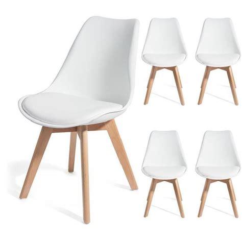 chaise acapulco pas cher chaise blanche et bois 3 chaises en bois jaune et
