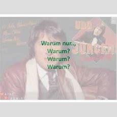 Udo Jurgens Warum Nur Warum Karaoke Compri Youtube
