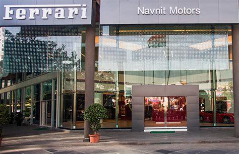 ferrari inaugurates   showroom  mumbai