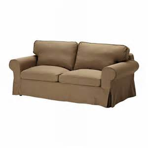 ikea ektorp sofa bed slipcover cover idemo light brown