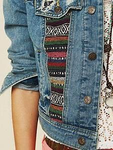 DIY customizau00e7u00e3o Jaqueta Jeans 38 | Style | Pinterest | Definicion de estilo Elementos y Propios