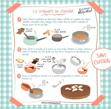 recette de cuisine pour enfants recette croquant chocolat recette croquant découvrir et