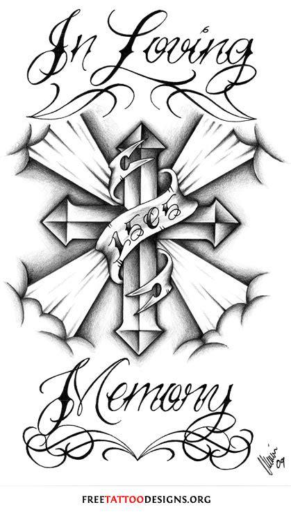 in-loving-memory-tattoo.jpg (419×740) | Tattoo Art | Pinterest