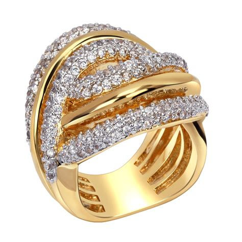 ring shining graceful fashionable trend wedding gift present memorial anniversary