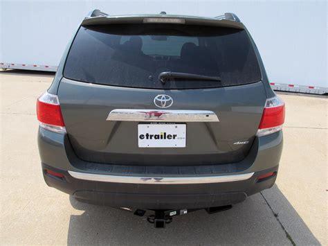 Toyota Highlander Hitch by 2009 Toyota Highlander Draw Tite Max Frame Trailer Hitch