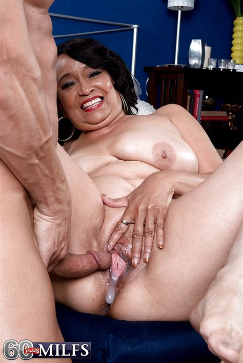 Chunky Latina Granny Rochelle Sweet Dripping Cum From Cunt