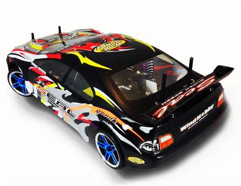New 2014 Nitro Gas Rc Car 4wd 1/10 Scale Drift Rtr Road