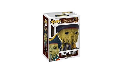 pirate des caraibes le coffre maudit des caraibes le secret du coffre maudit figurine pop davy jones 9 cm cin 233 ma