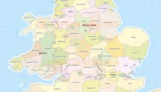 UK England Counties Map