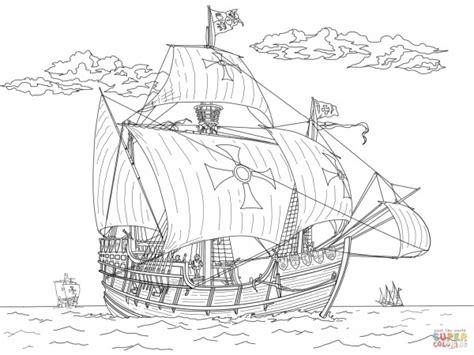 barcos de piratas  colorear colorear imagenes