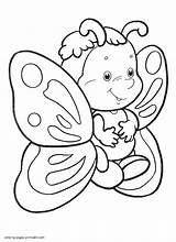 Coloring Butterfly Pages Adults Printable Popular sketch template