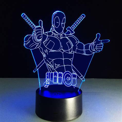 image result  cool lamps marvel led lamp lighting
