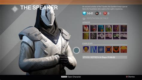 destiny guide  towers areas  characters vg