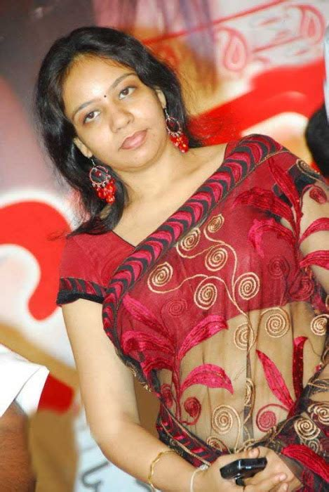 director mm srilekha hot stills  transparent saree