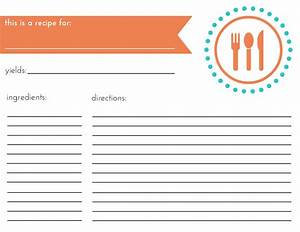 how to organize your recipes + free printables – THE