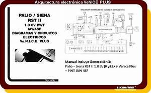 Fiat Palio Siena Diagramas El U00e9ctricos Ramal Todos Pinout