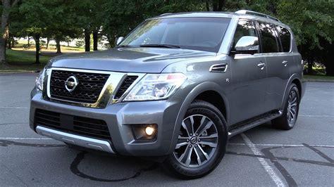 2017 Nissan Armada Reviews by 2017 Nissan Armada Sl 4wd Test Drive Review