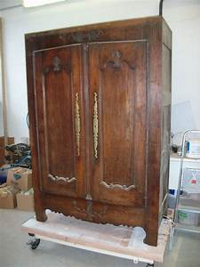 Comment Transformer Une Armoire Ancienne : table de style louis philippe en merisierart 39 b n ~ Melissatoandfro.com Idées de Décoration