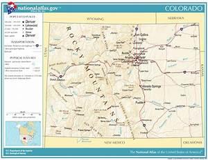 Colorado major cities map