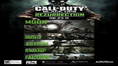 black ops zombies rezurrection map pack swamp