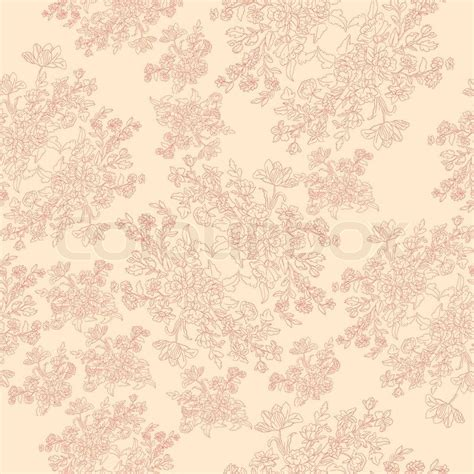 motif shabby chic seamless retro pattern with rococo flowers shabby chic motif vector colourbox