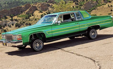 Lowrider Cadillac by 1984 Green Custom Cadillac Coupe Lowrider Vroom