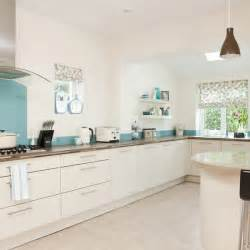 blue and white kitchen ideas white and blue kitchen modern kitchen designs housetohome co uk