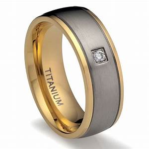 Wedding rings for men with titanium ipunya for Titanium men wedding rings
