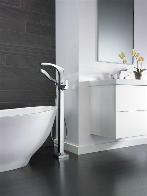 Delta Floor Mount Tub Filler In by Time To Unwind Win A Spa Day Handmade